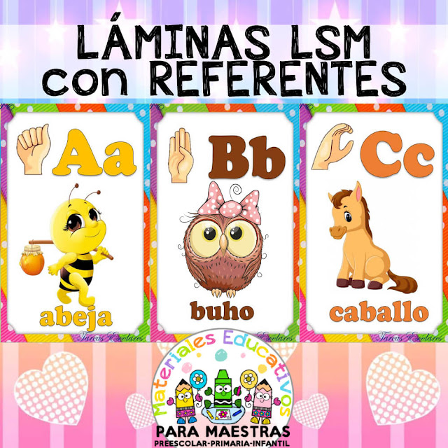 carteles-letras-alfabeto-lengua-señas