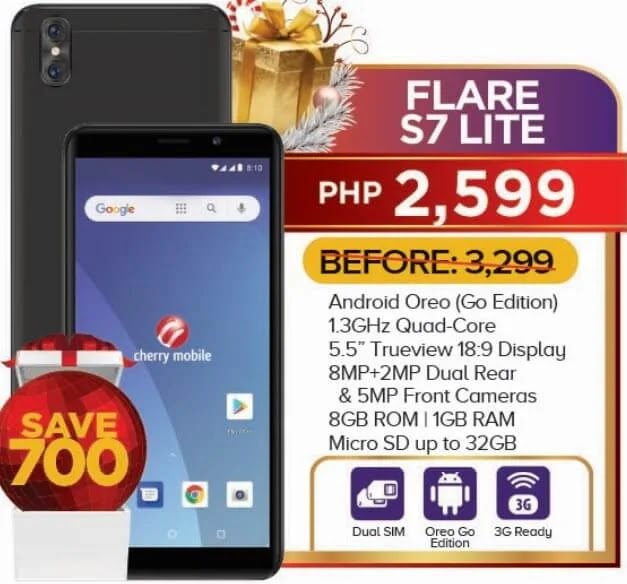 Cherry Mobile Flare S7 Lite Now Only Php2,599