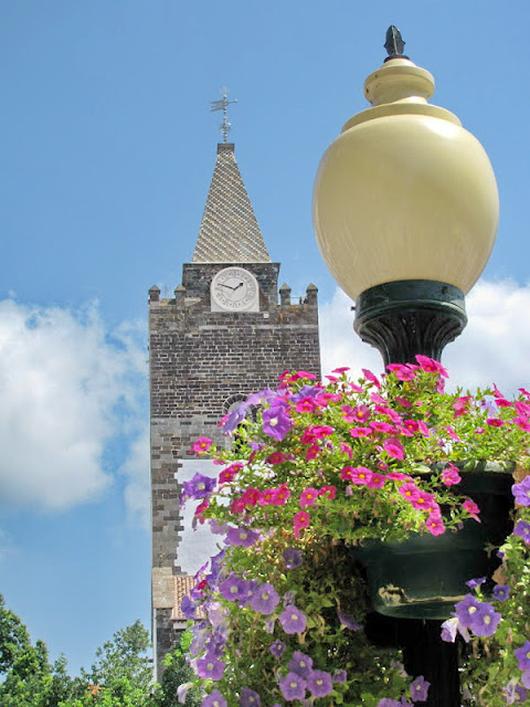 cathedral with flowers