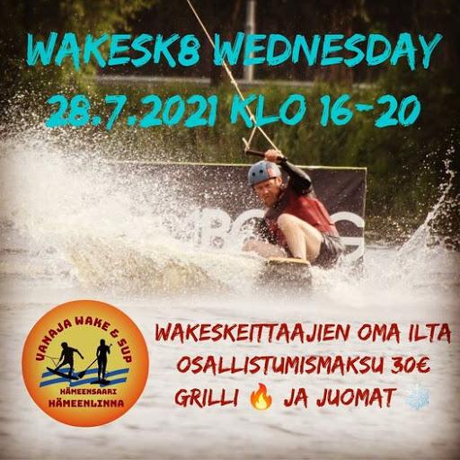 Wakeskate Wednesday 28.7.