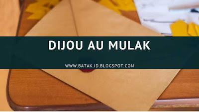 Lirik Dijou Au Mulak