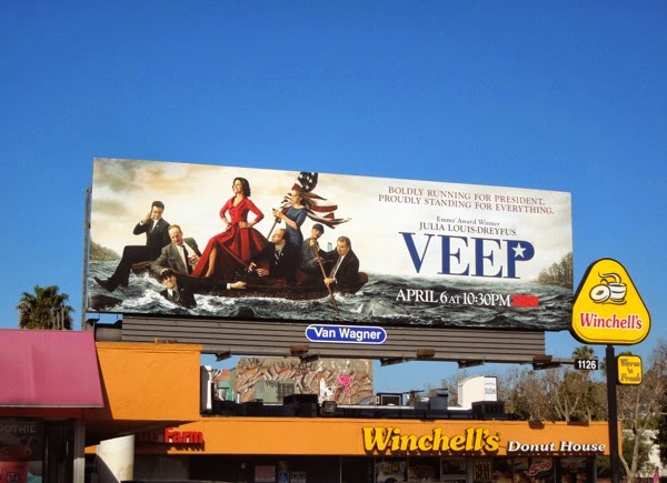 Veep season 3 billboard