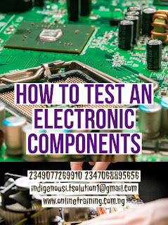 Testing Electronic Components Training For Nigeria