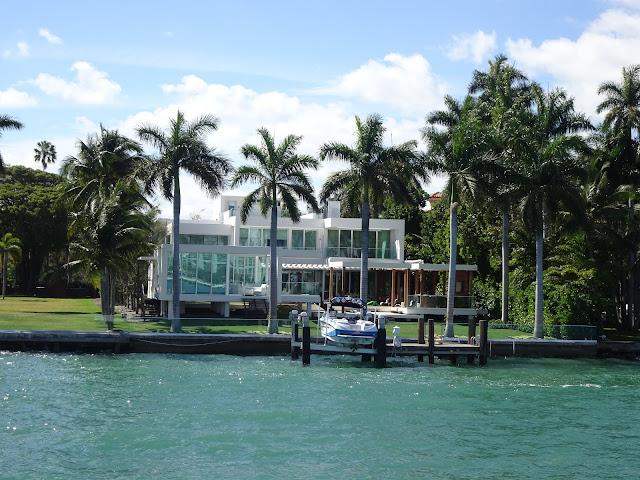 Mansiones de las islas de Miami