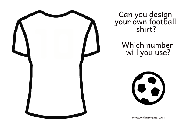 blank football short for design your own football top