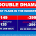 Jio Double Dhamaka Offer – 3GB Daily Data On Every Unlimited Pack