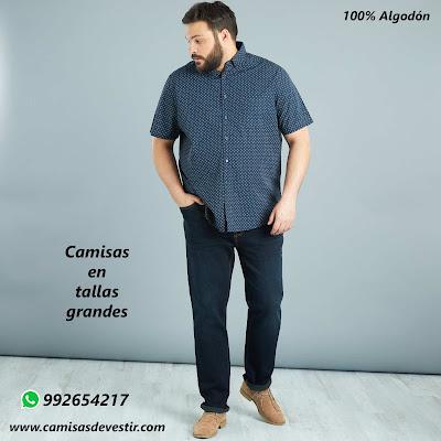 Camisas tallas grandes Huancavelica
