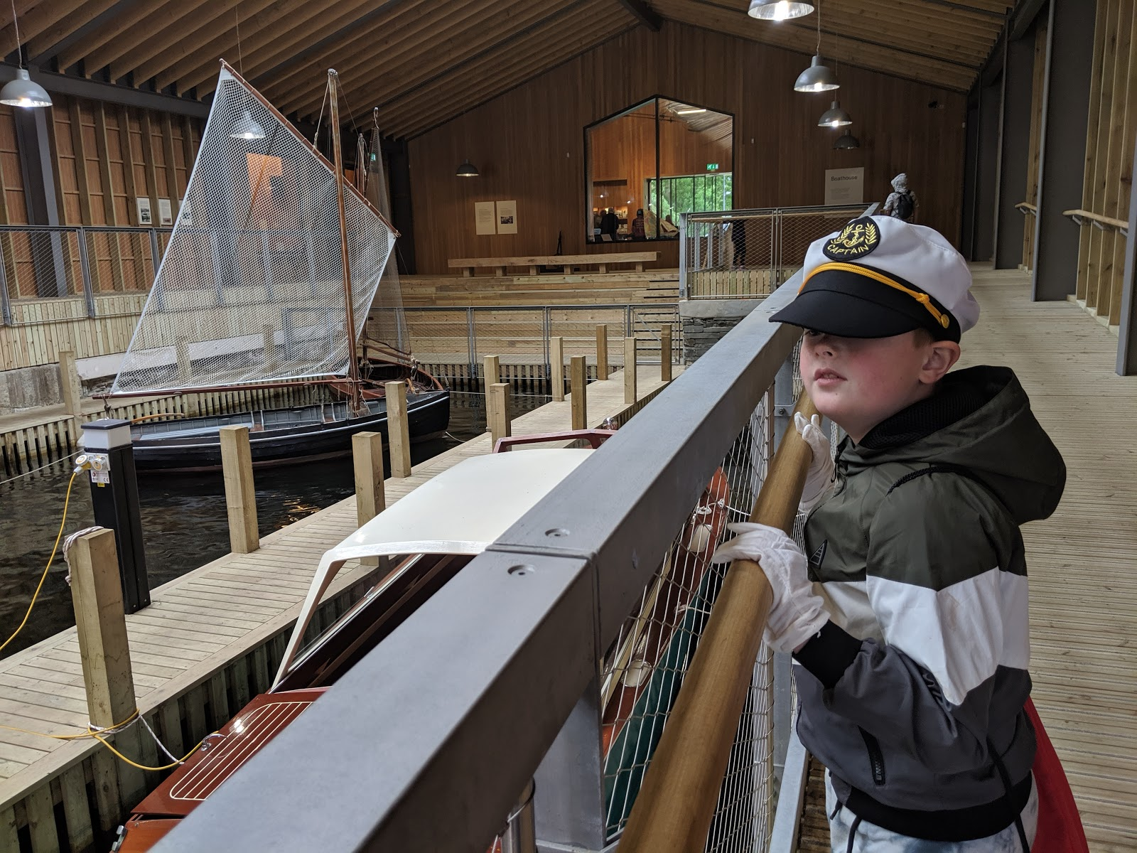 13 Reasons to Visit Windermere Jetty with Kids  - stories in the boat house