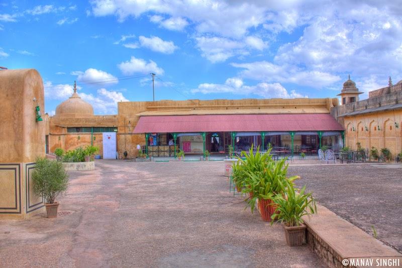 Durg Cafeteria, Nahargarh Fort, Jaipur.