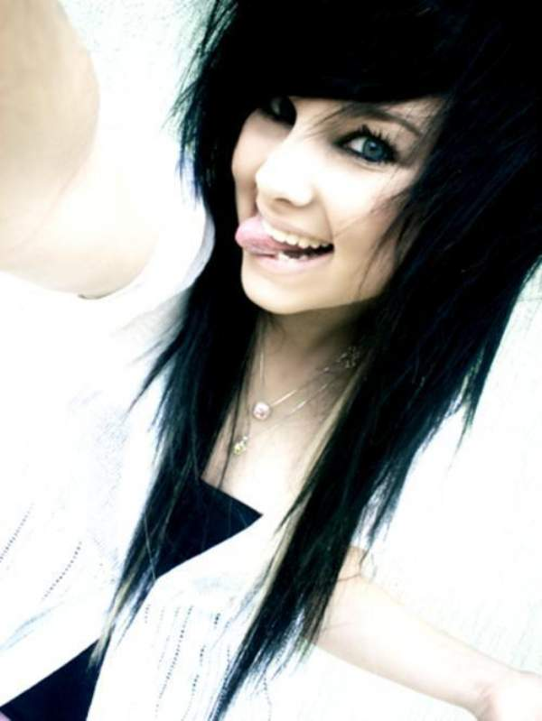 Emo Lifestyle Emo Girls Black Hair