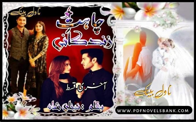 Chahat e Zindagani by Naina Shah Novel Last Episode