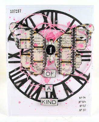 Sizzix Timekeeper Die Sizzix Tattered Butterfly Stampers Anonymous Entomology For The Funkie Junkie Boutique