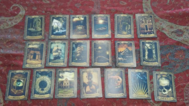 major arcana trump tarot fireproof room