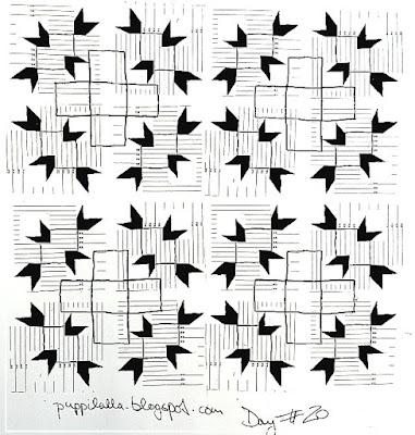 Puppilalla, Original Quilt Design, Quilt Block Challenge, Quilt Design Challenge, New Quilt Block,