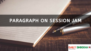 Now write a paragraph on Session Jam