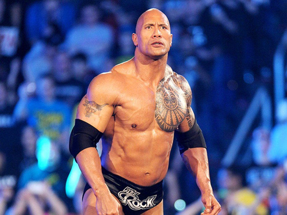 ''The Rock'' Johnson  | Famous Celebrity Bible