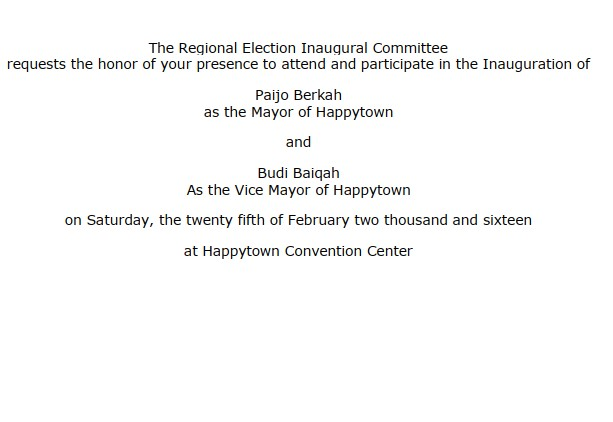 Contoh surat undangan dalam Bahasa Inggris (via: caramudahbelajarbahasainggris.net)