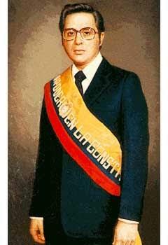 Presidente Jaime Roldós Aguilera Ecuador