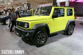 Suzuki Jimny mobil terbaik 2019