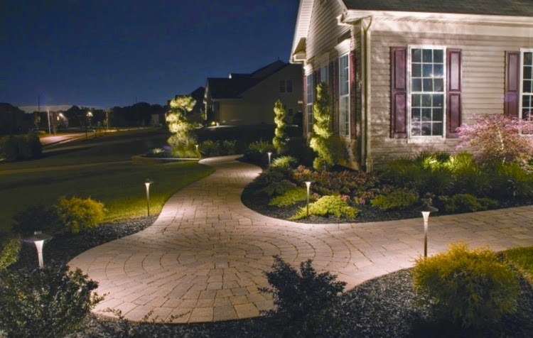 LED Lights Around The Home, LED Outdoor Garden Lights