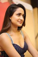 Pragya Jaiswal in Deep neck Gown at Launch of OPPO Phone 007.JPG