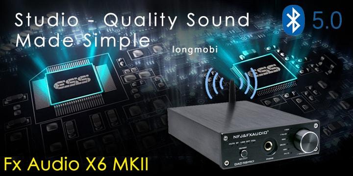 dac fx audio x6 mkii