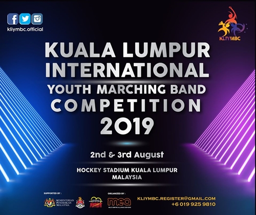 Kuala Lumpur International Youth Marching Band Competition (KLIYMBC) 2019