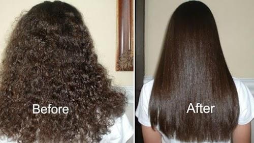 وصفة من مواد طبيعية لفرد الشعر بدون كيراتين أو بروتين