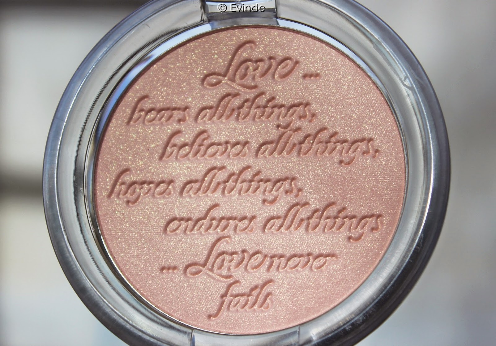 essence love letters highlighter