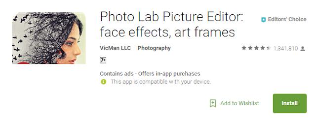 Aplikasi  Kamera dan Edit Foto di Android Terbaik 2018