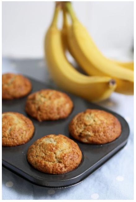 Everyday Banana Muffin