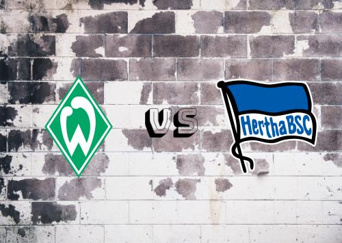 Werder Bremen vs Hertha BSC  Resumen