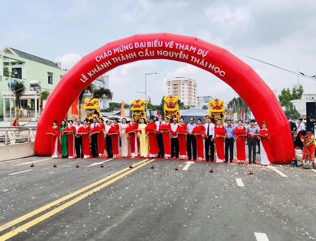 An Giang chính thức khánh thành cầu Nguyễn Thái Học 200 tỷ