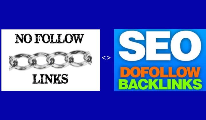 Dofollow backlinks and no follow backlinks>.