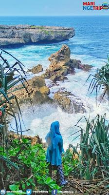Pantai Watu Lepek Malang Mari ngetrip