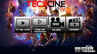 تطبيق TECCINEIPTV مع 11 أكواد تفعيل مدفوع