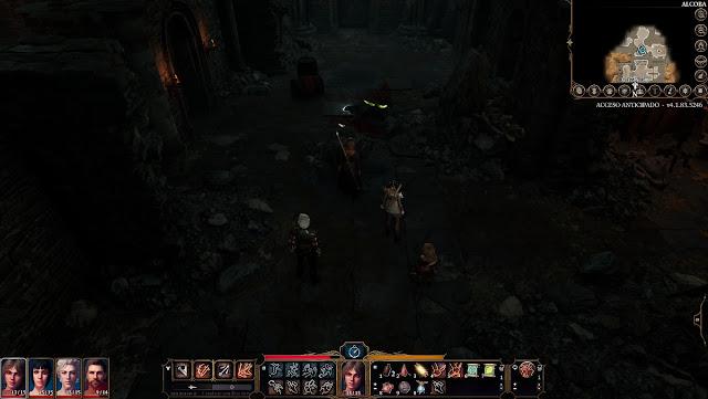 Avance Baldur´s Gate 3 - Exploración