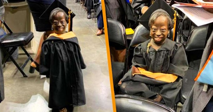 Woman who was given three days to live at birth graduates from college