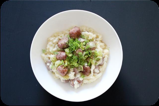 Fenchelrisotto, Salsiccia, Lakritzpulver + 4 Tipps für ein perfektes Risotto | Arthurs Tochter Kocht von Astrid Paul