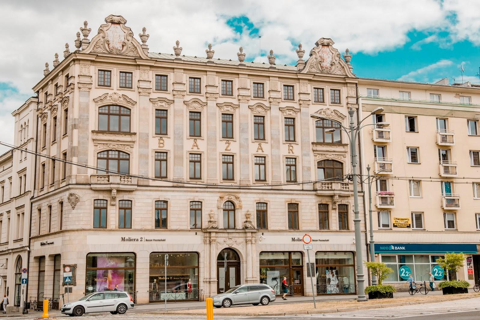 hotel bazar Poznań