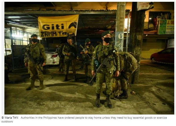 Millions return to lockdown in Philippines as virus instances soar