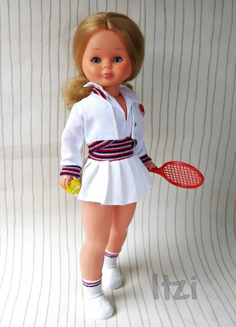 Nancy tenis Ninua muñeca Nancy clásica creaciones marco