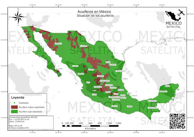 Agua subterranea en Mexico