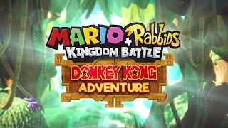 Mario + Rabbids DK Cover Wallpaper