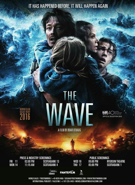 فیلم دوبله : موج (2015) The Wave