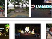 Keren! Pesona Taman Tepian Sungai Mahakam Samarinda, deskripsi wisata samarinda central park by pengacaraperceraianperdatabalikpapan