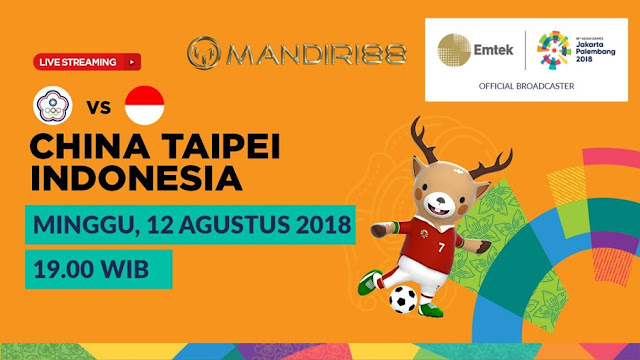 Prediksi China Taipei U-23 Vs Indonesia U-23, Minggu 12 Agustus 2018 Pukul 19.00 WIB @ SCTV