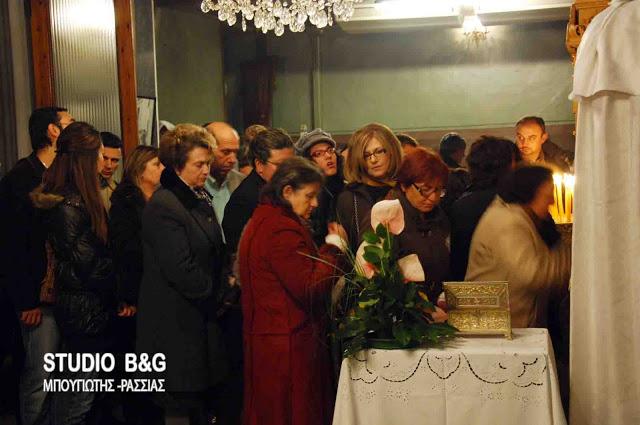 Γιορτάζουν την Αγία Βαρβάρα στο Ναύπλιο