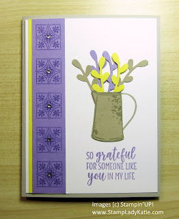 Card made with Stampin'UP!'s Country Home stamp set and Sprig Punch