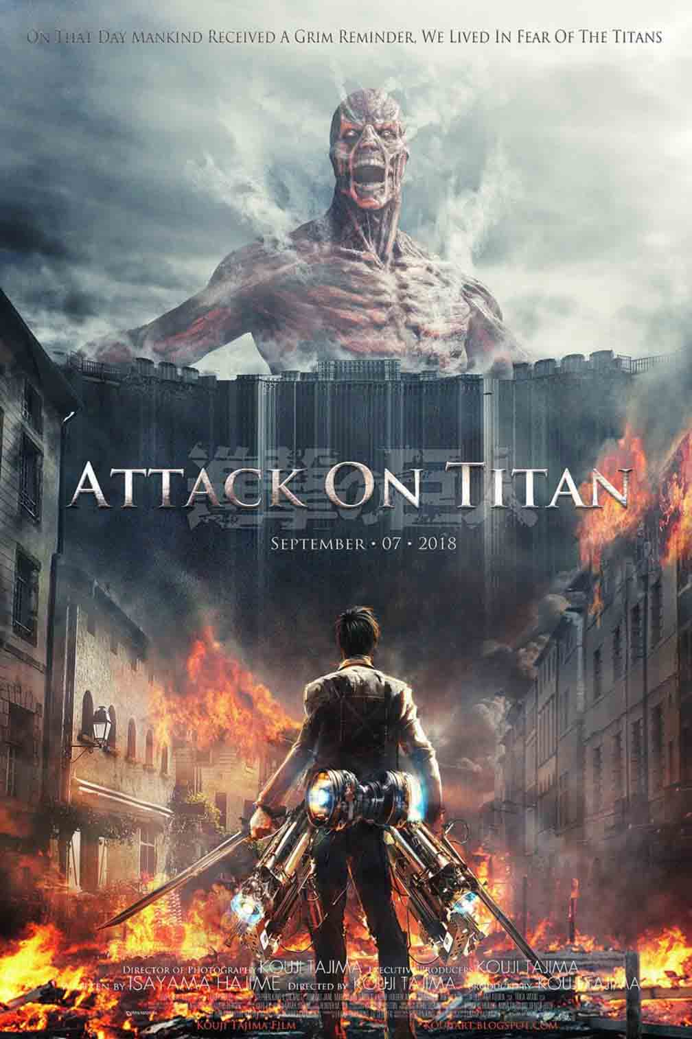 Attack on Titan Part 1 - HD 720p